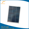 45W high efficiency poly solar panel for home use