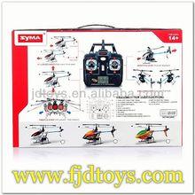 Syma F3 apache helicóptero 4ch