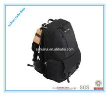 2014 hot selling quality nylon black shoulders camera bag