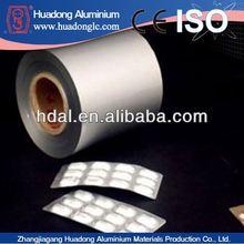 capsules pack blister pack aluminum foil