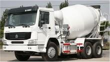 CNHTC/sinotruk howo 6x4 luxurious concrete mixer truck 266hp euro2