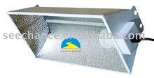 Newest air cooled glass flip grow light aluminum refletor/silver star lighting