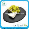 black slate stone serving plate natural slate stone plate round slate plate