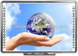 "Cheap China Smart Class IR Dual Pen Interactive Whiteboard 82"" With Smart Pen Tray"