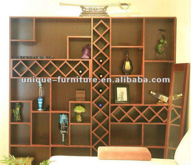 Moderna sala de estar bar arm rio de parede arm rios para - Armarios para sala de estar ...