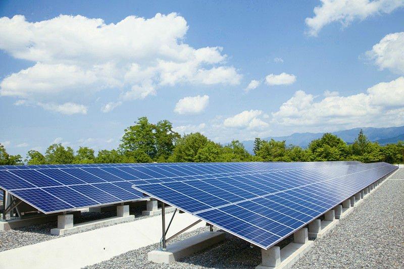 inclinaison fixe toit plat panneau solaire syst me de. Black Bedroom Furniture Sets. Home Design Ideas