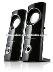 2.0 sound system plastic,for desktop/computer/lcd/laptop,usb speaker