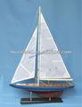 Voilier en bois modèle, modèle de bateau à voile, mini bateau, souvenir, de la marine, nautiques., cadeau promotionnel, cadeaux maritime, décoration à la maison