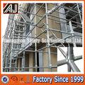 Acier q235 meilleur prix cuplock échafaudages pour la construction, lourde charge cuplock système d'échafaudage( fait à guangzhou en chine)