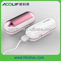 2013 nuovo design in alluminio materiali un lato riscaldamento della capsula forma scalda corpo per gli uomini