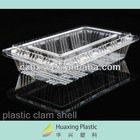 PVC PET clear plastic box container food packaging