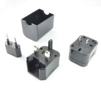 2014 NEW portable charger kit, universal travel adapter of worldwide with plastic box travel adaptor