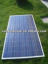 chinese solar panel 120w18V Watt poly sun green power solar panel kit with competitive price per watt