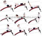 abdominal crunch machine exercise