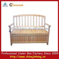 Wooden sofa beer cooler
