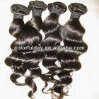 Alibaba.com Wholesale virgin Brazilian body loose wave human hair extension