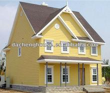 luxury light steel structure villa for sale