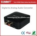 de fibra óptica de audio digital coaxial converter