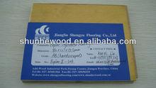 UV Lacquered Poplar Multi-layer Engineered Wood Flooring