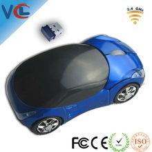 2.4GHz 3d wireless optical usb mouse, Ferrari car design
