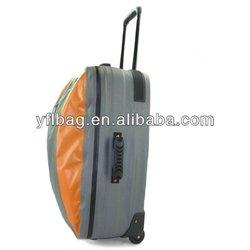 Fashion waterproof duffle bags with trolley