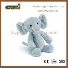 soft plush elephant stuffed animal toy doll for promotional gifts
