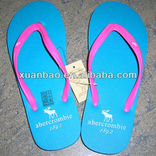 Factory Supply high quality navy blue flip flops