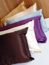 OEM Bed Covers Classic Real Silk Pillow Shams 100% Mulberry Silk Charmeuse Pillowcase