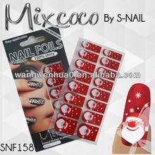 new christmas nail wrap nail foil adhesive