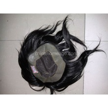 homeage virgin remy human hair man wig