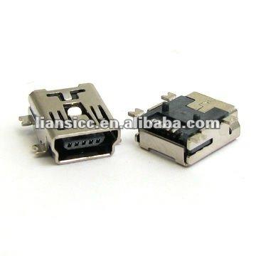 мини-usb 5p в тип женщина разъем-соединитель-ID продукта:579823246 ...