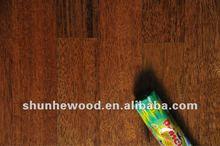 Flat UV Lacquered Merbau Engineered Wood Flooring