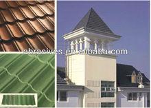 Square / Gothic flat asphalt roofing shingles tiles