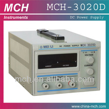 MCH-3020D, dc power supply 600w, 30V 20A, power supply single output