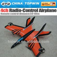 4ch radio-control airplane model airplane retractable landing gear