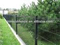Côté de la route la prévention courbes. pvc soudés panneau de clôture treillis/panneau de clôture de sécurité/soudés clôture courbes 50*200mm maillage