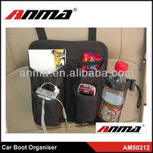 Best quality car boot organizer / car organizer seat back pocket