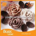 nova custom feita a mão flores de lã de