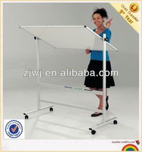 YDB-001 office and conference movable double sided white board with castors