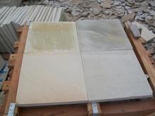 Calibrated Sandstone Paving Slabs Mint Fosssil
