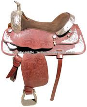 Show Leather saddle