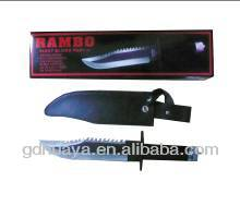 hot sale cowhide sheath stainless steel knife