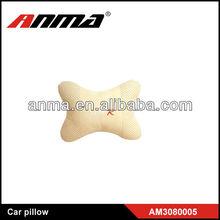 hot sale cars lovely beige embroidered velvet pillow