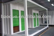 prefabricated container house for living