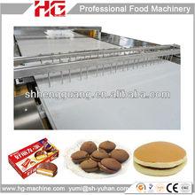 9ton/day gas oven choco pie bakery machine