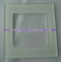 insulating one way toughened glass protective light switch covers