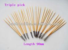 three pick stick skewer