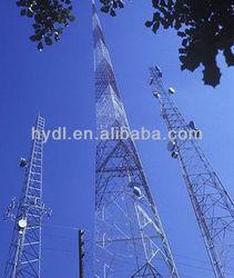 square angular steel telecommunication tower
