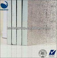 Aluminum foil fireproof pir Insulation Board