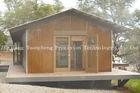 Wood Appearance Prefabricated Log Cabin House